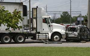 arkansas trucking accident with no insurance coverage