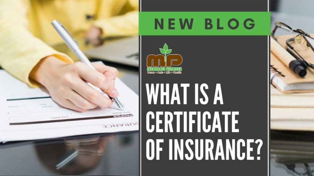 What Is a certificate of insurance