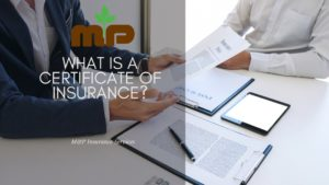 what is certificate of insurance